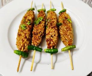 燕麦Seekh Kabab/燕麦Kabab