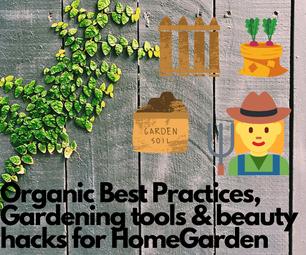 最佳实践#自助家庭花园