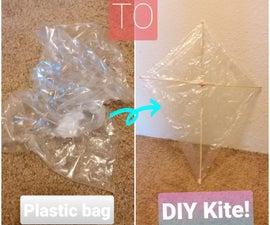 Plastic Bag to Kite!