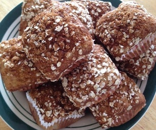 Banana Cottage Cheese Muffins