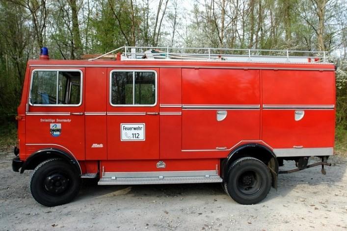 Firetruck Camping Car