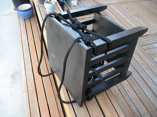 Carrying Medium Weight Furniture on Your Bike