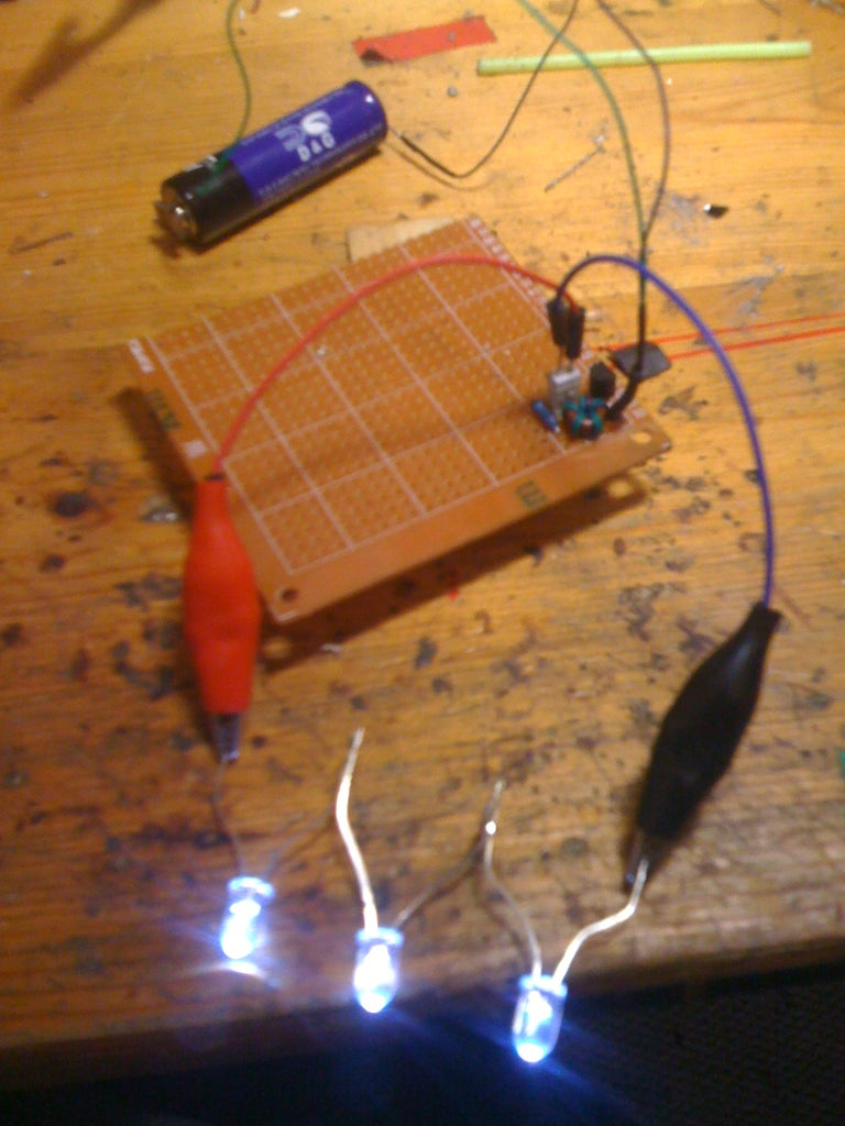 Small Joule Thief