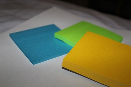 A Note About Post-it Notes (ha)