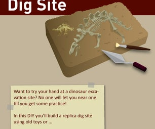 DIY Dinosaur Dig Site
