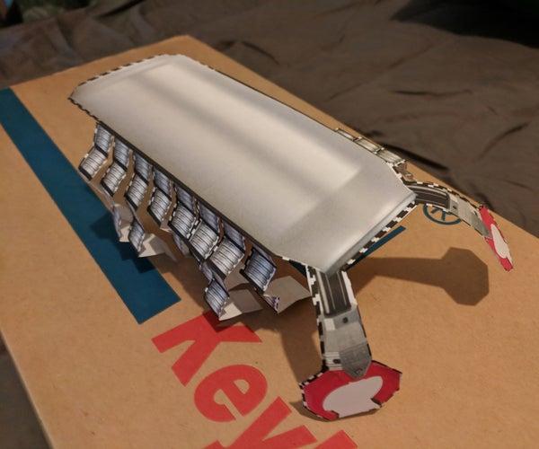 ScrapION Papercraft Robot