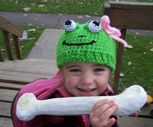 Green Froggie Hat