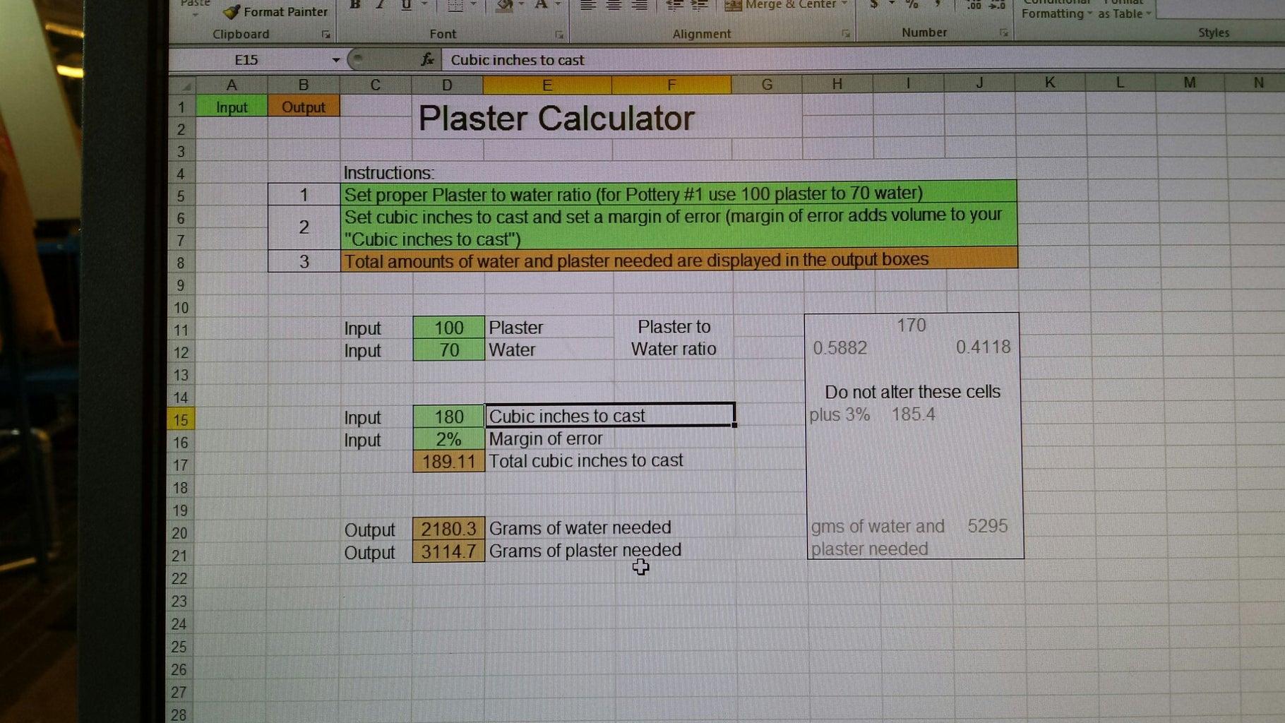Mastering Plaster - Adjust the Volume!