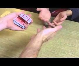David Blaine Street Magic 2014 - Hand Sandwich Card Tricks Revealed