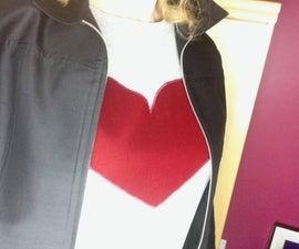 Heart Applique Shirt