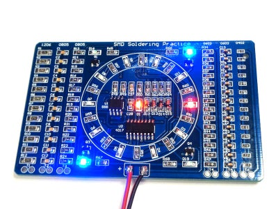 SMD Soldering Practice Kit, or How I Learned to Stop Worrying and Love the Cheap Chinese Kit
