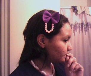 How to Make a Cute Hair Bow