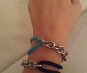 DIY Hair Tie Bracelets