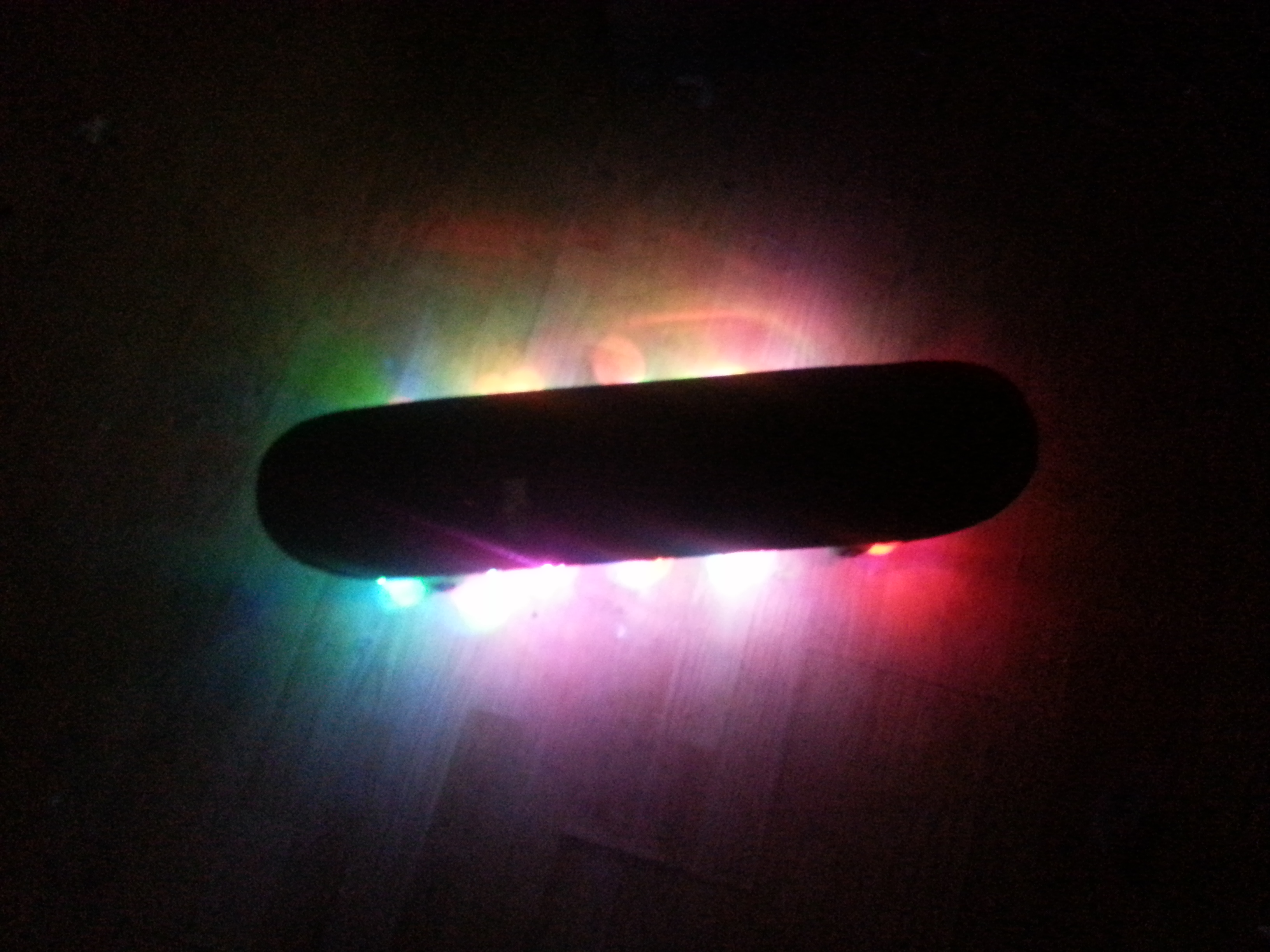 LED skateboard version 3!