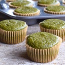 {Gluten-Free} Green Smoothie Muffins