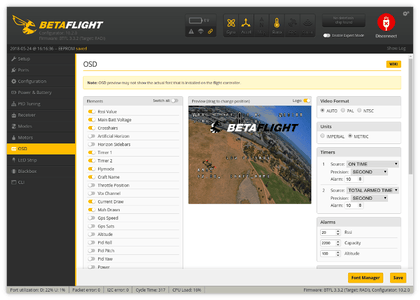 Setting Up the Software in Betaflight