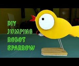 Diy Cute Jumping Robot Sparrow