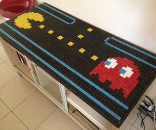 Pac Man / Pacman Mosaic Table Cover