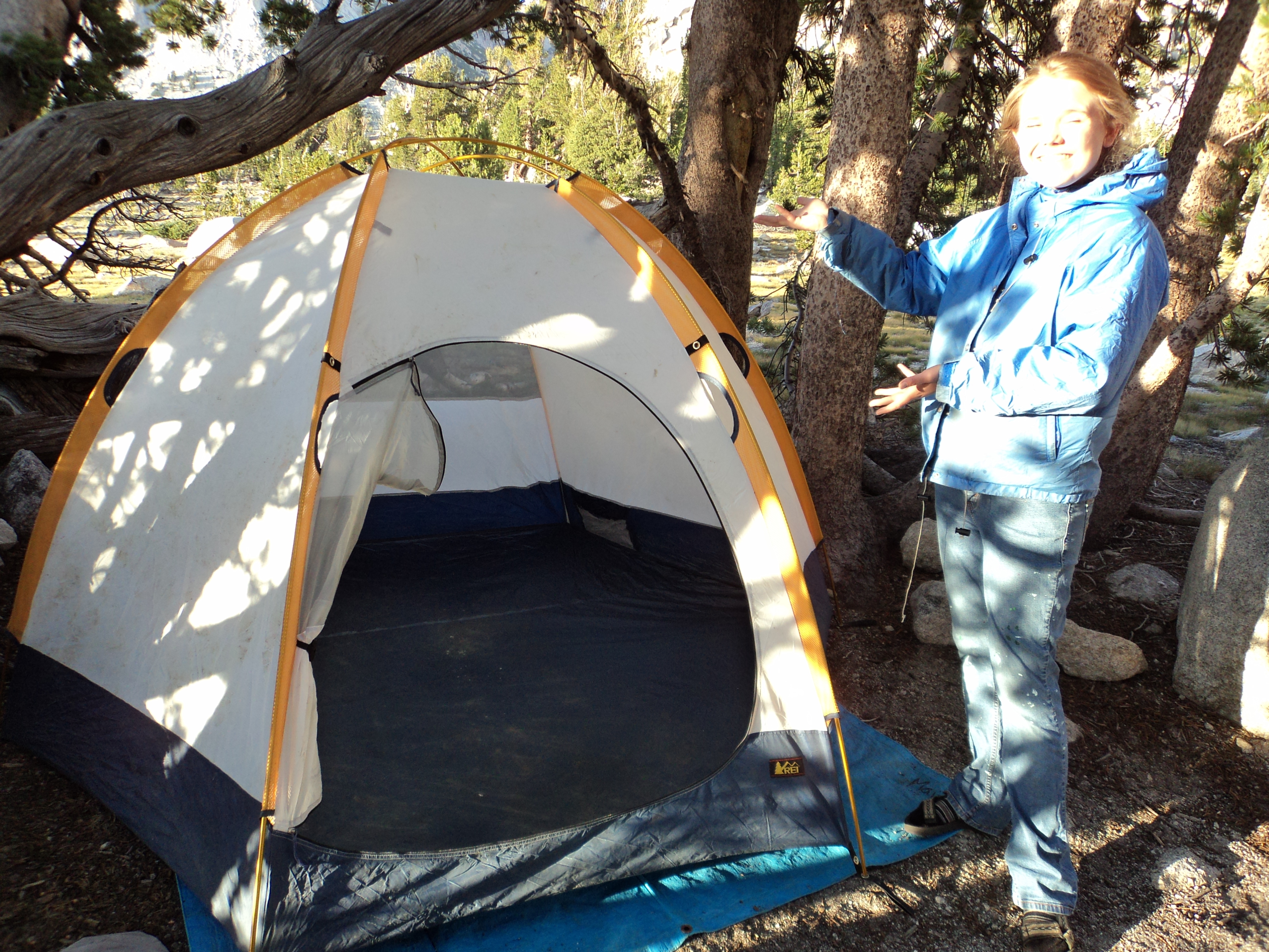 How to Put up a Dome Tent