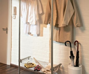 Building a Simple, Stylish Clothing Rack From Pipe