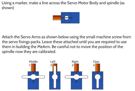 Robotic Arm Wi-Fi Controller - Calibrating Servo Motors
