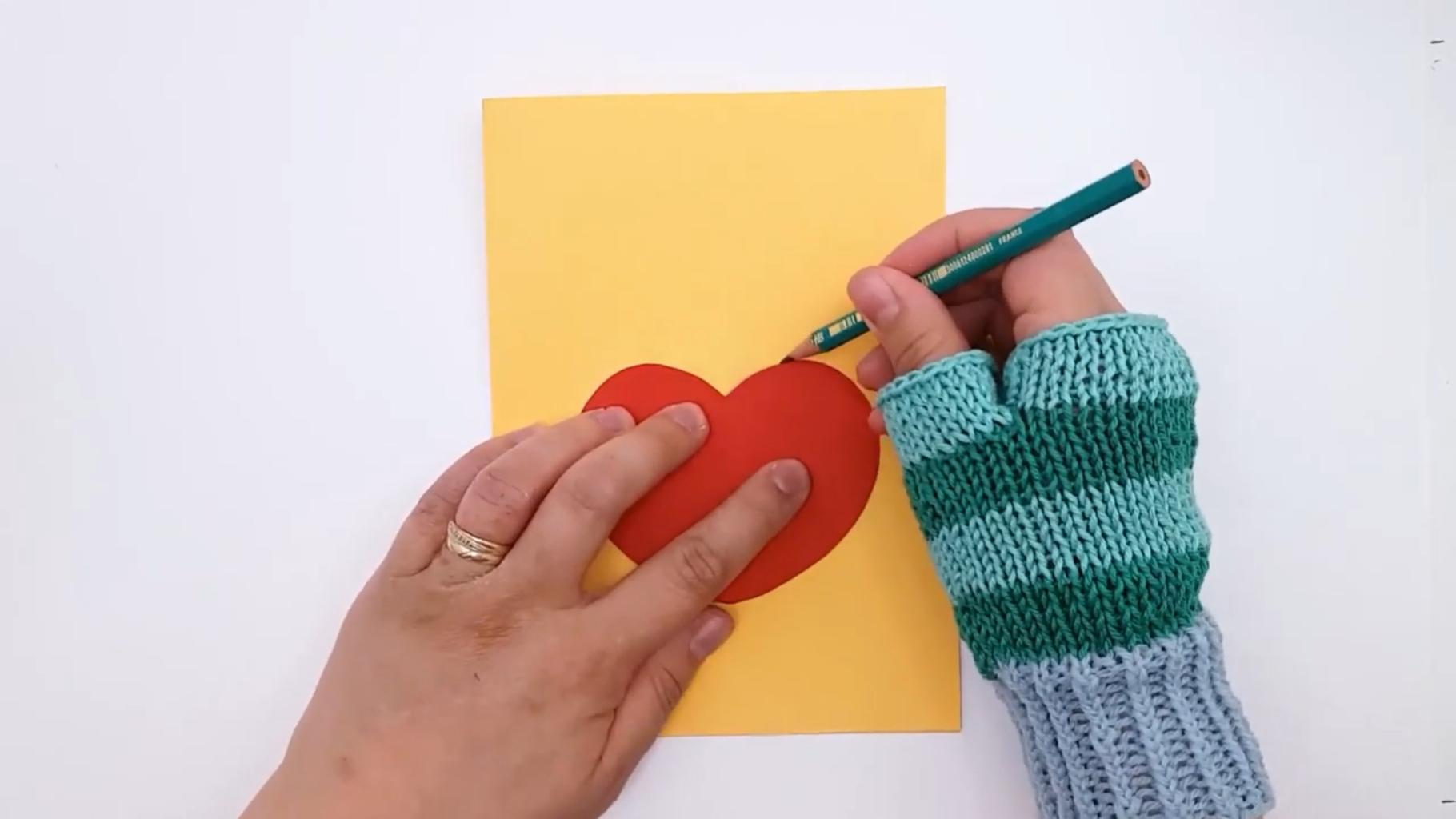 Draw a Place for the Heart | Piirrä Sydämen Paikka Korttiin