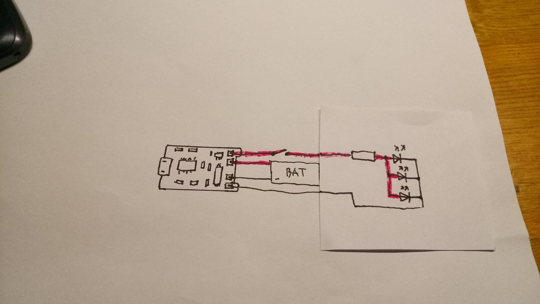 Schematic and Component's