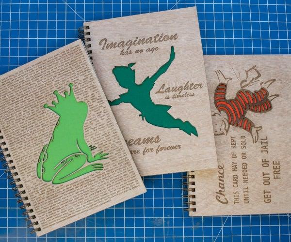 Laser Engraved Journal