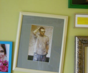 Keep Picture Frames Hanging Straight With Sugru Feet