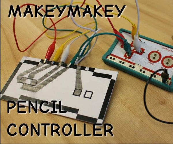 Make a MakeyMakey Pencil Controller