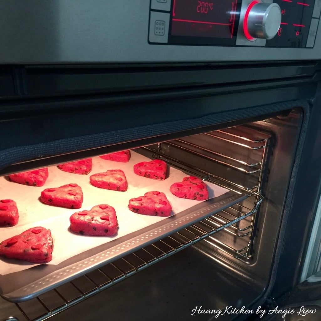 Bake in Preheated Oven.