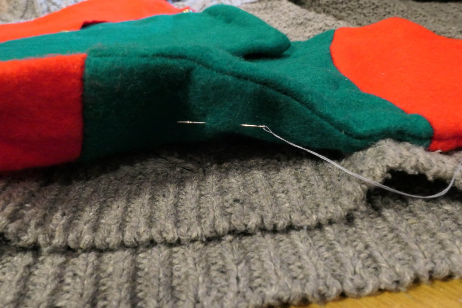 Sew on the Stocking