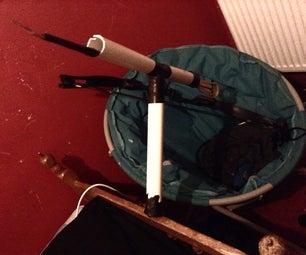 How to Make a Mounted Arrow Gun!!