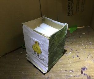 Recycled Cardboard Hot Glue Stick Dispenser/holder