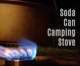 Easy Soda Can Camping Stove