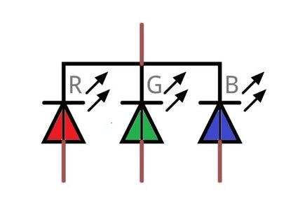 RGB LED Schematic