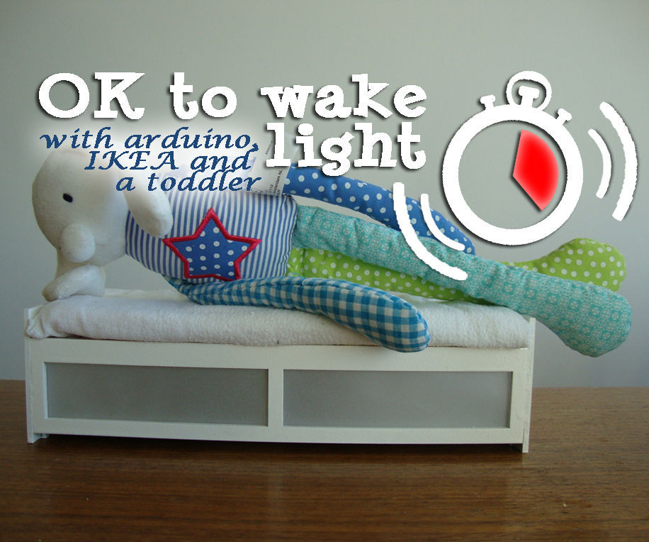 'OK to wake' clock for your toddler