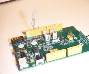 Use a Linkit ONE to Cloud Control a Color LED