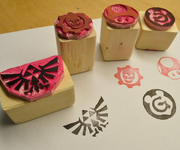 DIY Rubber Stamps