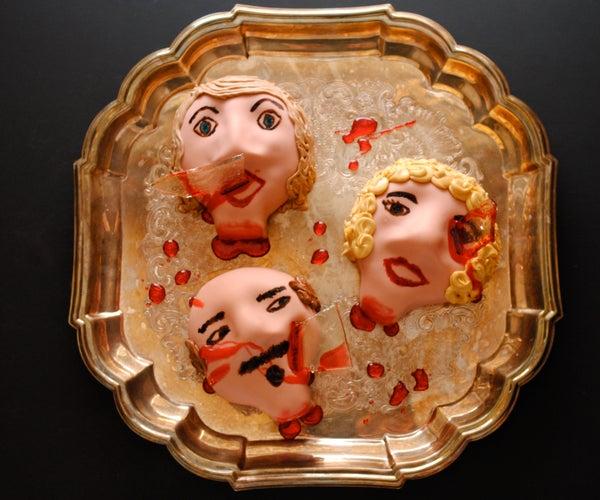Severed Fondant Heads