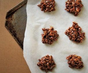 No-Bake Cookies GLUTEN FREE
