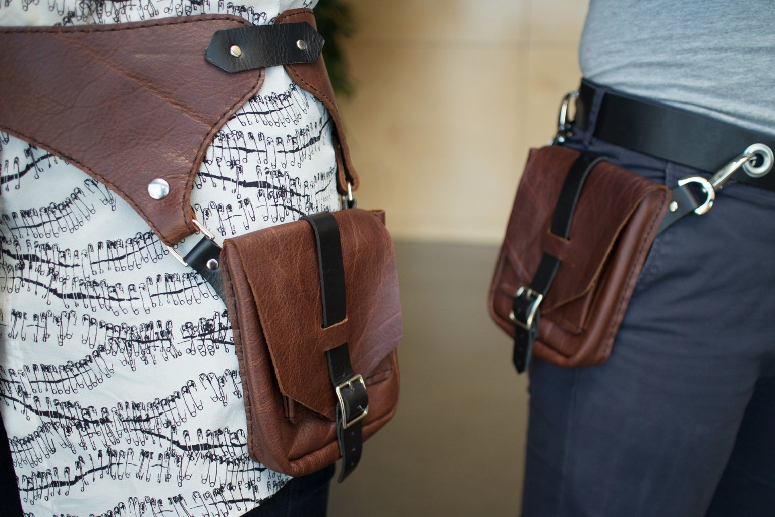 Turn a Belt Into a Pocket Belt