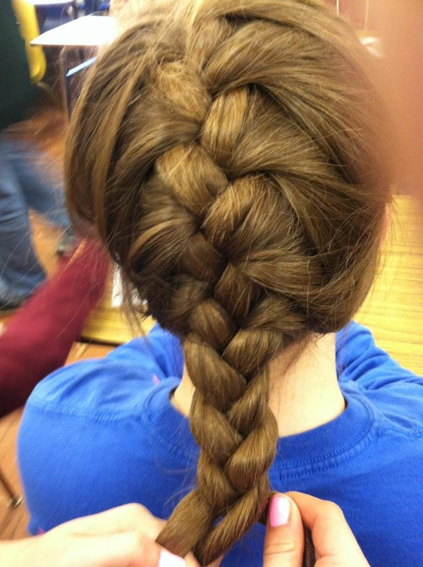 How to Make a Traditional French Braid