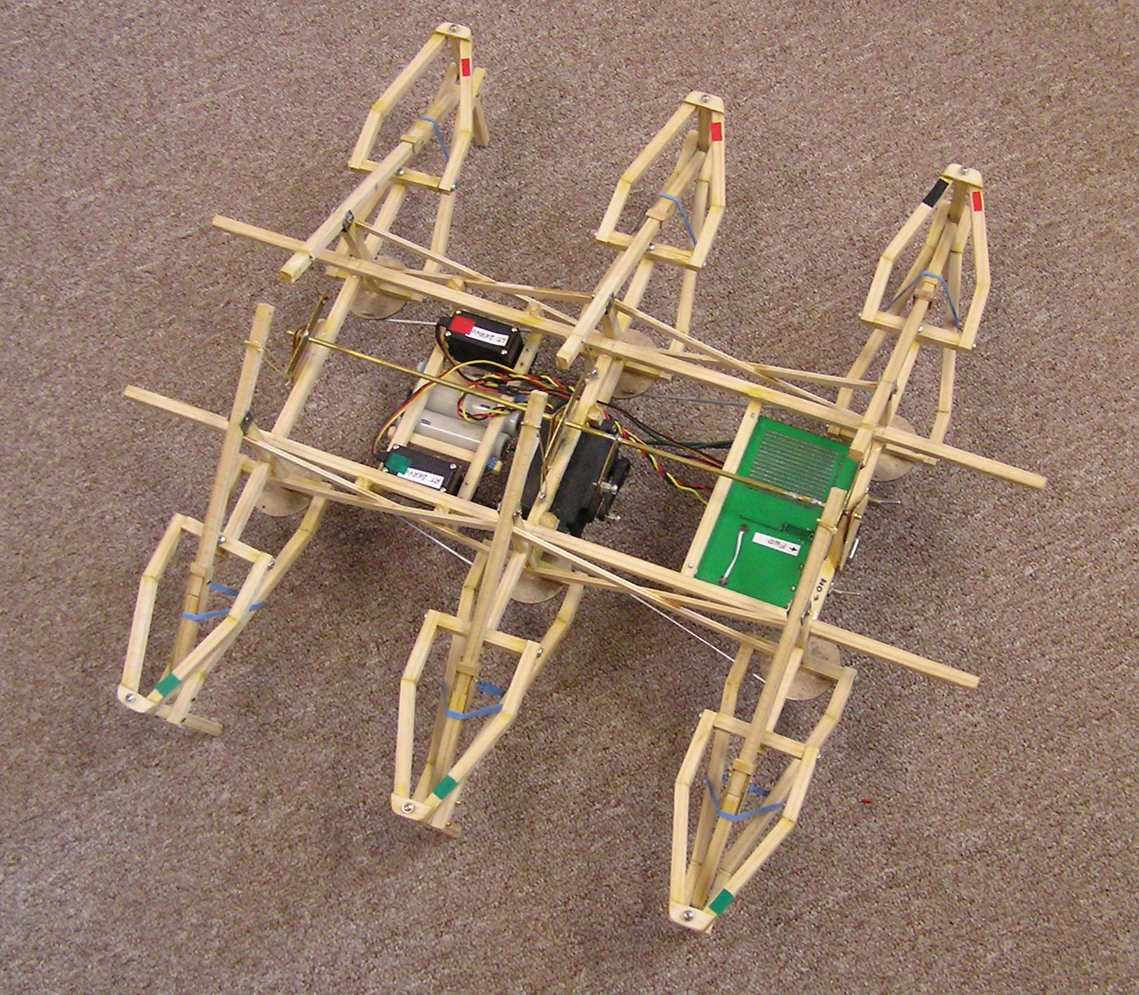 Make a real (cheap) hexapod !