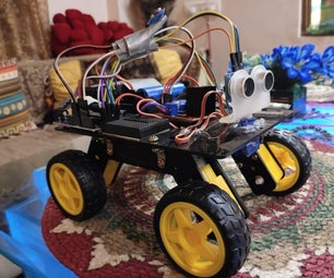Mobile Controlled Obstacle Avoidance Car