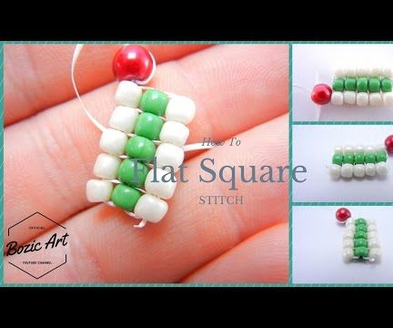 Flat Square Stitch | How to