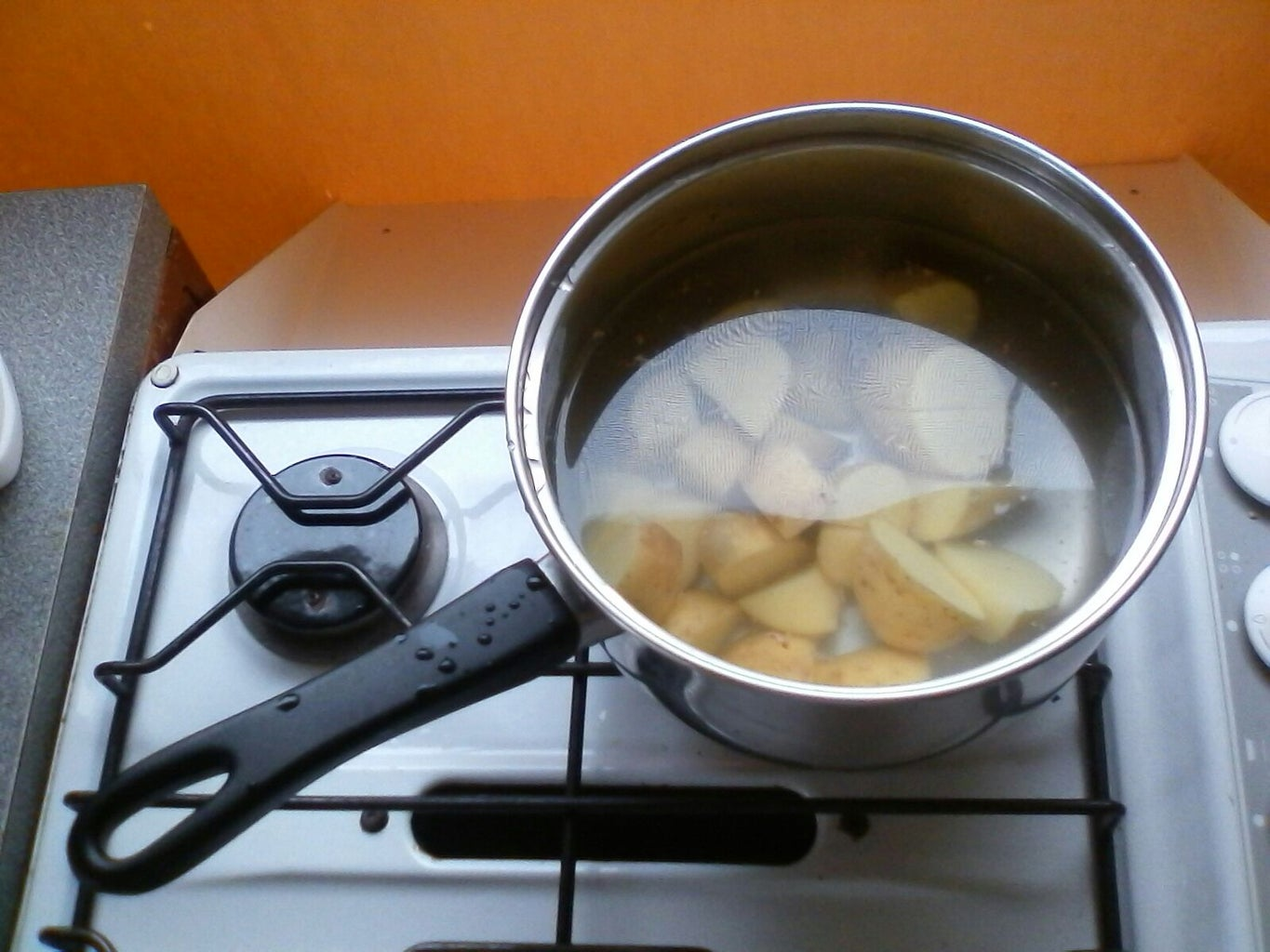 The Cooking . . .