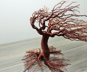Autumn Wind Blow Wire Tree