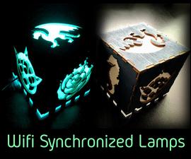 Wifi Synchronized Lamps