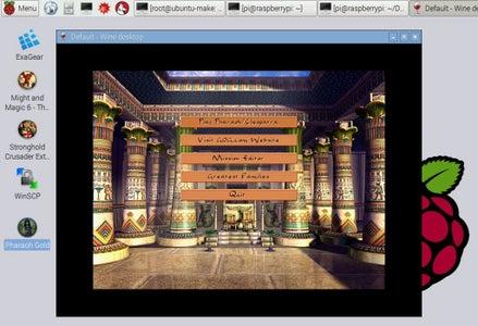 Port Pharaoh and Cleopatra to RPi